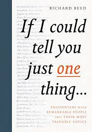 Book: If I could tell you one thing...