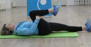 Lumbar spine stretch