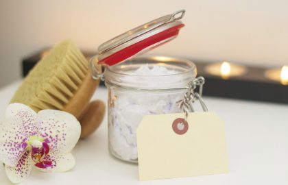 Body brushing for smooth and supple skin