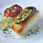 Cod and olive oil mash Chez Bruce
